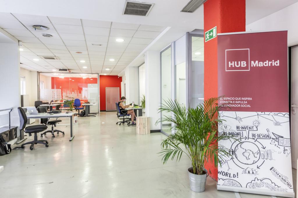 Espacio de Safari Crowdfunding en el HUB Madrid