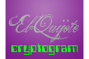 El Quijote en Criptograma